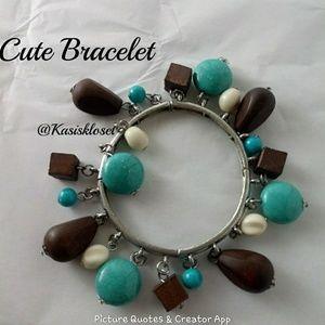 🎈4/$20🎈Turquoise Dangley Bracelet